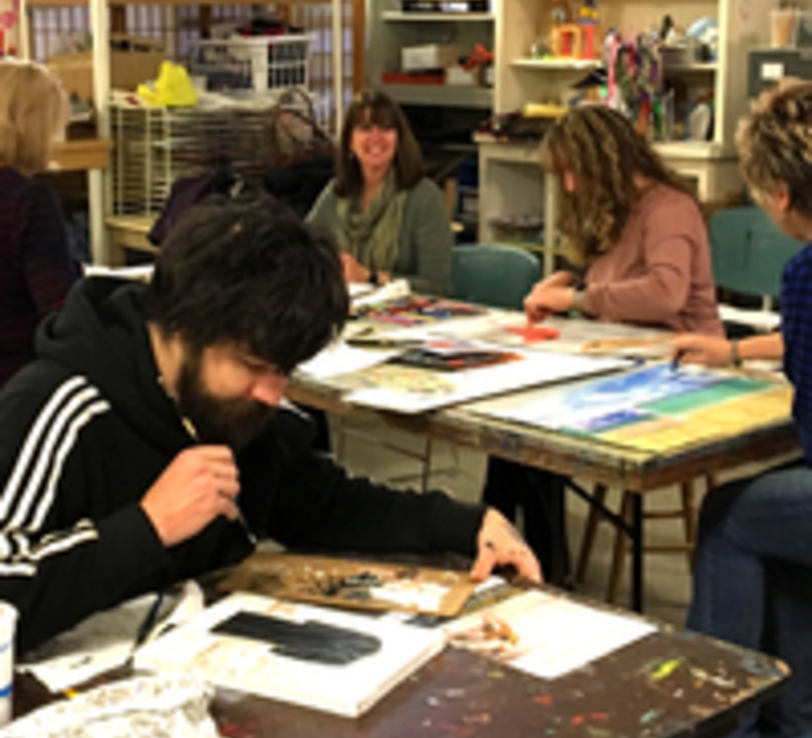 Art II for Adults (Winter -evening session)