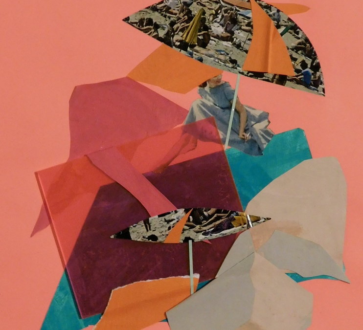 Exploring Collage through Mixed-Media and Image Transfer