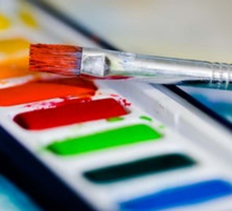 Children's Watercolor Painting (online)