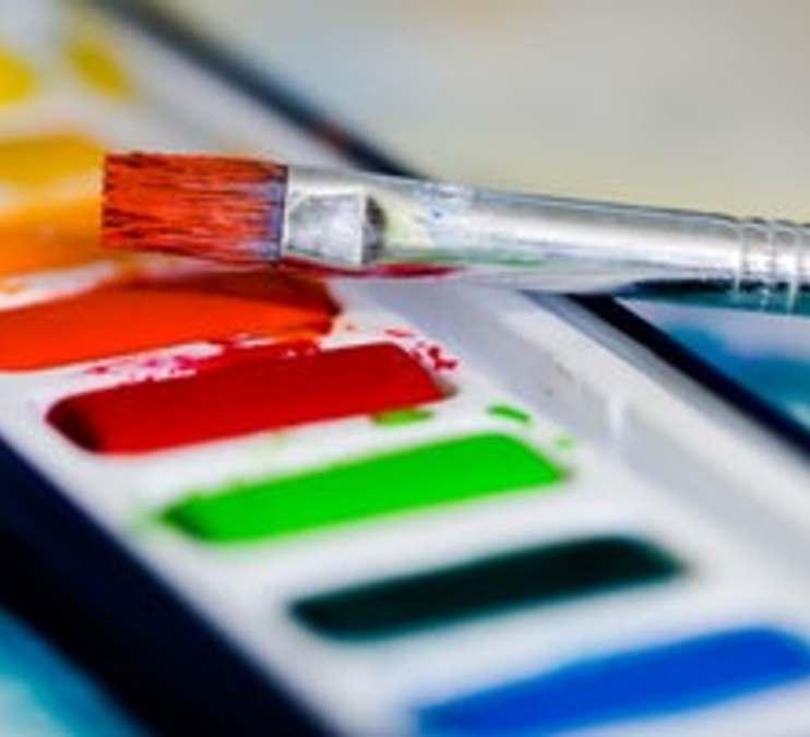 FAVA @ OPL - Watercolor Basics/Watercolor Resist!