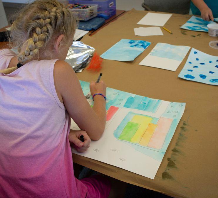 FAVA Summer Art Camp (GRADES 4-5)