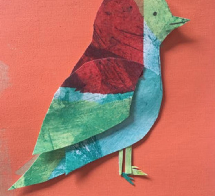 Ode to Eric Carle Collage Workshop (online)