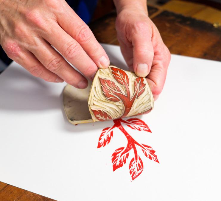 Exploring Linoleum Cut Printmaking