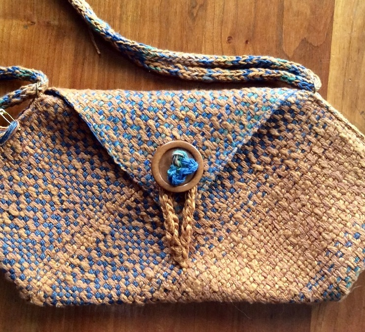 Woven Origami Bag