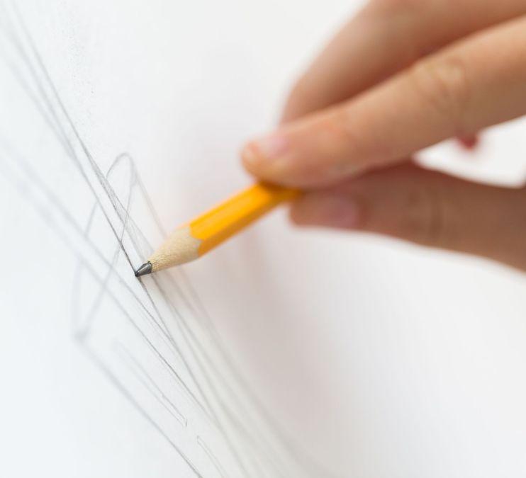 Teen Sketching