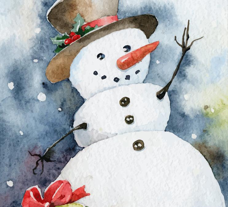 Winter Art Box for Kids