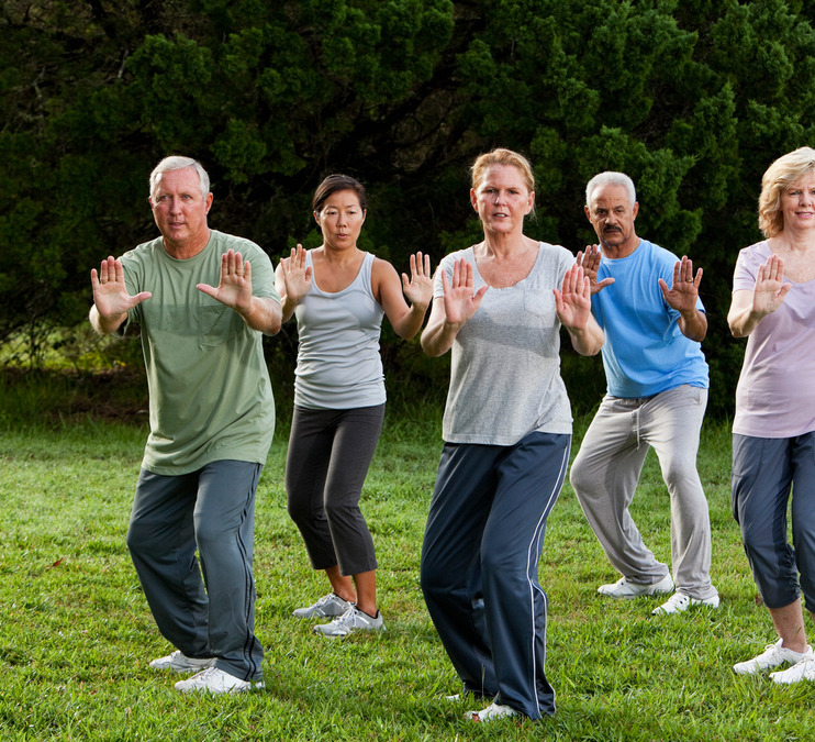 Tai Chi in the Gallery for Arthritis and Fall Prevention