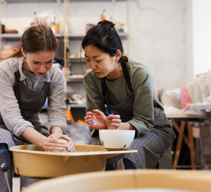 Pottery Pop-In for Teens